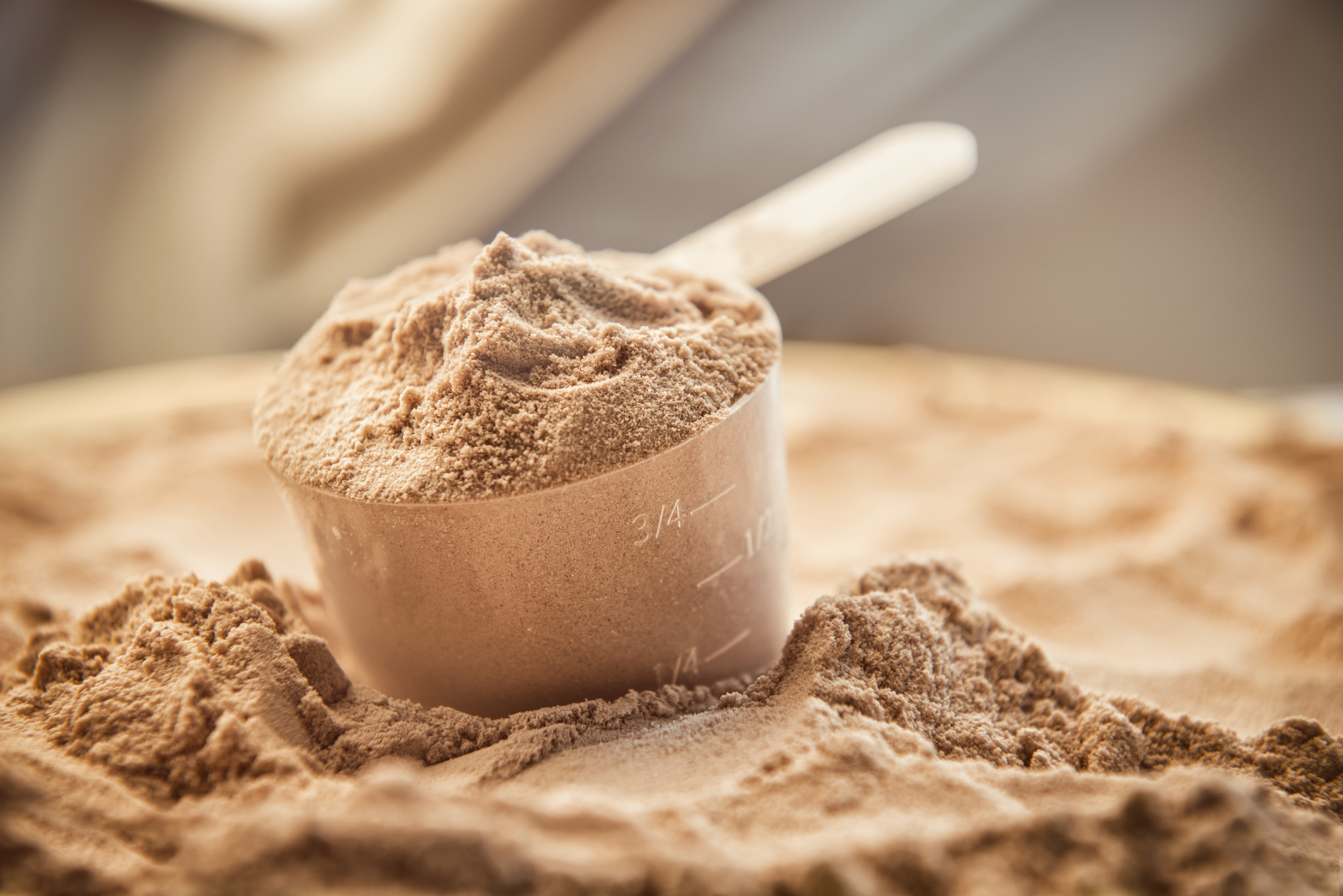 Organic whey protein powder from Envir