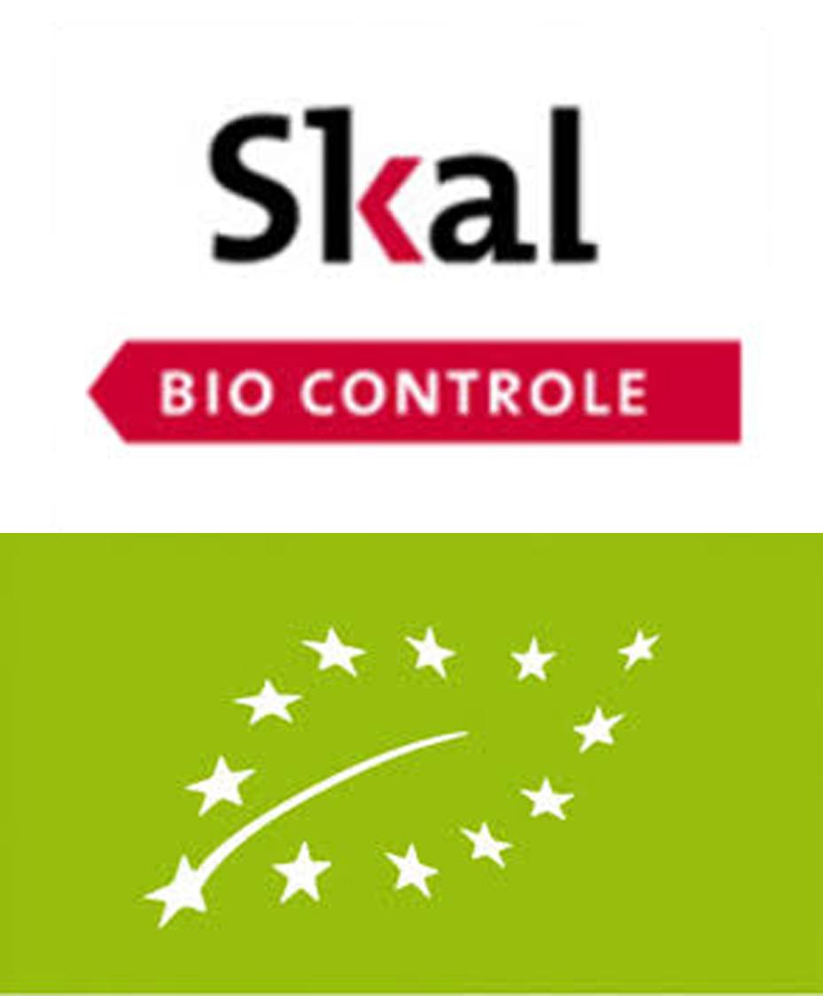 Organic certified by SKAL